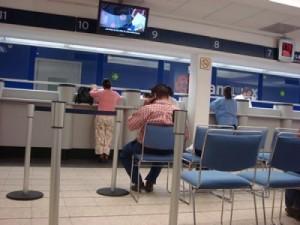 servicos sucursales bancarias